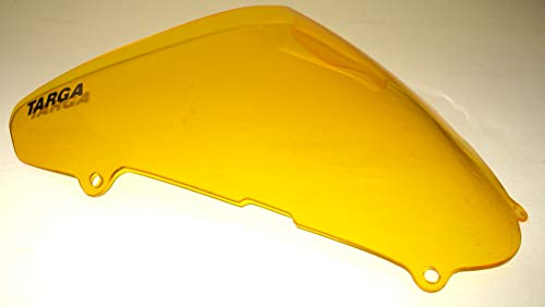 TARGA 2001-2002 Suzuki SV650S SV650 Windscreen Windshield Transparent Yellow Tint OEM Replacement Made in the USA 24-886TY