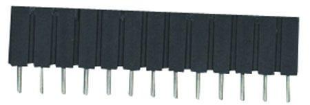 310 Series IC /& Component Socket Beryllium Copper 2.54 mm SIP Socket MILL MAX 64 Contacts 310-13-164-41-001000
