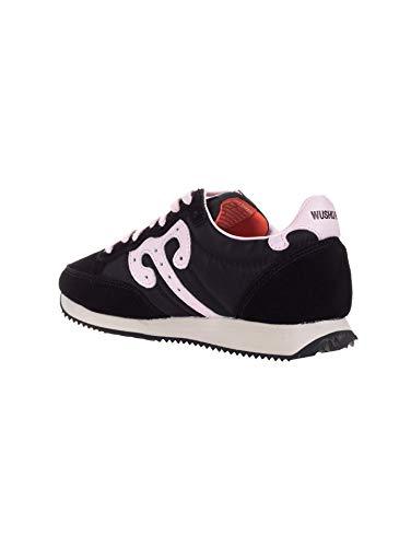 Donna 2018 E Sneakers Rosa Nero Camoscio Ruyi Wushu A Tessuto i wqExfnI