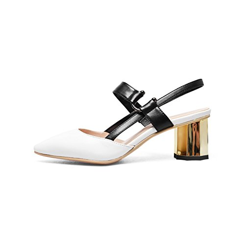 Style 1TO9 White Sandals Mini Baguette Business Size MJS03101 Urethane Womens rtn0qFrza