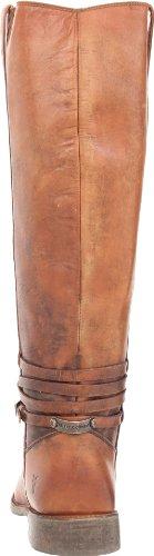 de placa Stone Cognac Botas de equitación FRYE para Wash mujer Shirley wO1C55Zq