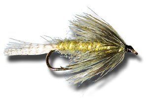 Green Drake Emerger Fly Fishing Fly - Size 10 - 3 Pack Green Drake Flies