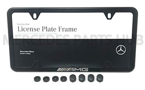 Genuine Mercedes-Benz Q-6-88-0138 - AMG SLIM LINE FRAME; BLACK POWDER COAT