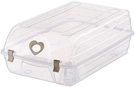 YAzNdom Caja de Zapatos Caja de Almacenamiento de plástico Botas de plástico Transparente Caja de Almacenamiento Artículos para el hogar a Prueba de Polvo Simples Gabinete para Zapatos: Amazon.es: Equipaje