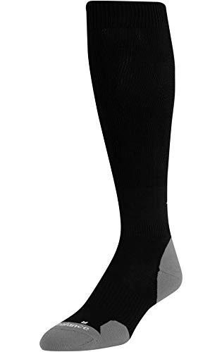 New Balance Men's Over the Calf Baseball Socks (L, Black)
