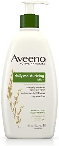 Aveeno Daily Moisturizing Lotion For Dry Skin, 18 Fluid Ounce