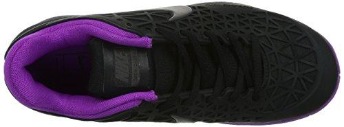 Scarpe Nike Zoom Cage 2 Femme Noir Mauve Donna - 40