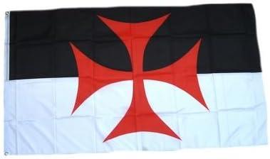 Flaggenking Bandera de King Cruz de los templarios Cruz ...