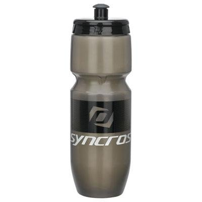 Syncros Corporate 700ml Bicycle Water Bottle (Clear Grey/Black)