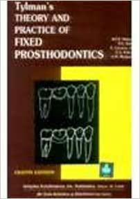 Buy tylmans theory and practice of fixed prosthodontics 8th flip to back flip to front fandeluxe Gallery