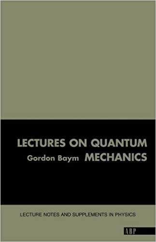 Lectures on quantum mechanics lecture notes and supplements in lectures on quantum mechanics lecture notes and supplements in physics gordon baym 9780805306675 amazon books fandeluxe Gallery