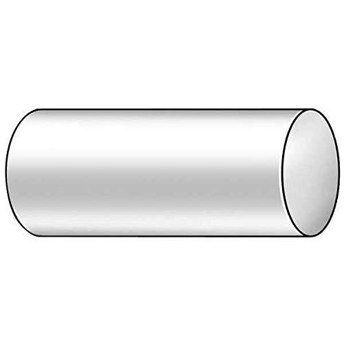 Polymershapes Rod UHMW-PE Black 5 Dia x 1 ft L