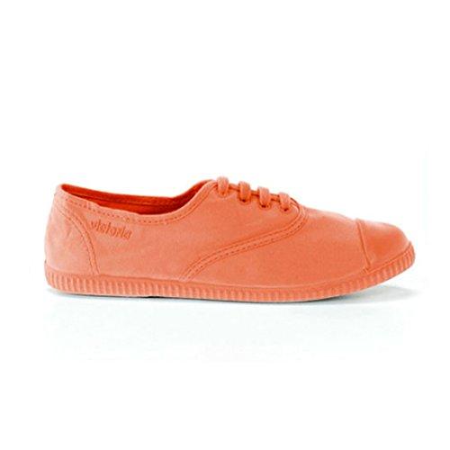 Victoria Womens Inglesa Tintada Monocromo Low-top Lace Up Canvas Fashion Sneaker Mango