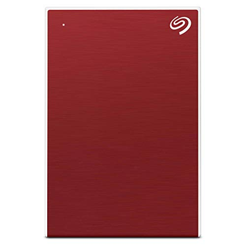 LD Seagate Backup Plus Slim 2 TB External Hard Drive Portable HDD Red USB 3 0 for PC Laptop and Mac 1 Year Mylio Create 2 Months Adobe CC Photography STHN2000403