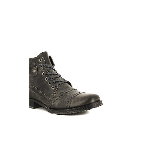 Bullboxer B358-K5-0477A Zapatos de cordones Hombre gris, EU 42