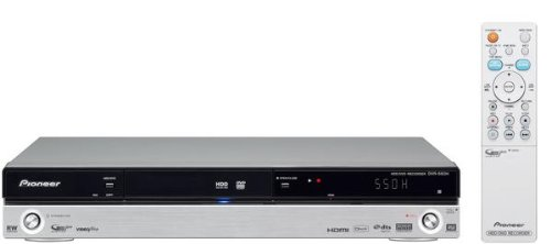 Pioneer DVR-550H-S Multi-System DVD Recorder with Built-in Hard Drive