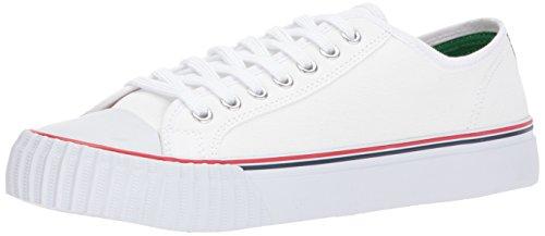 Volantini Da Uomo Mens Center Lo Fashion Sneaker Bianco