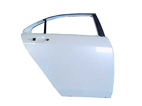 Door Shell Pearl White Rear Right Passenger Side Acura TSX 2004 04 05 06 07 - Gallery Tan Lines