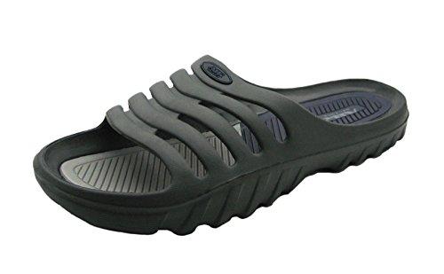 Lumière De Lair Et Confortable Hommes Douche Chic Sandales Sandales Gris