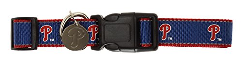 - Sporty K9 MLB Reflective Dog Collar, Philadelphia Phillies Medium/Large
