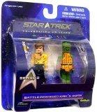 Diamond Select Toys Star Trek The Original Series Mini Mates Series 2 Battle Damaged Kirk & Gorn