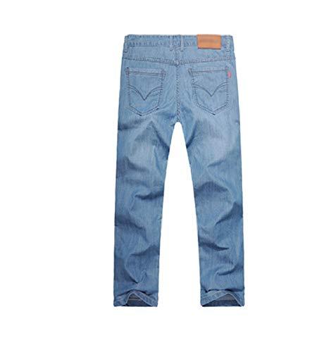 Puntos De Puntos Los Hombres Tamaño 1 WJF Flojos Gran Cintura Pantalones La 9 Ocasionales Verano De De Pantalones Los De De Marea De Hombres Básico Algodón Vaquero Hombres 35 De Vaqueros Los nIqpqUxR