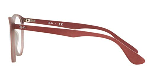 Gafas Ray Light Monturas Brown Gradi De 0rx7046 51 On Para ban Bordeaux Mujer BrqIRArn