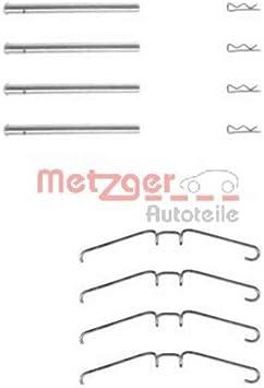 Scheibenbremsbelag Metzger 109-1211 Zubeh/örsatz