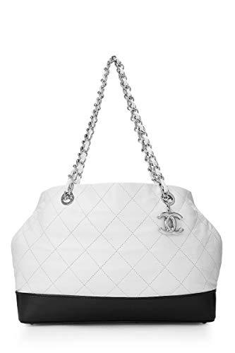 White Chanel Handbag - 5