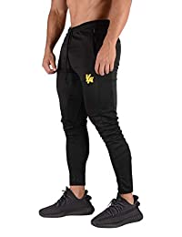YoungLA Mens Soccer Training pants tapered fit 5 colors X-Large All Black