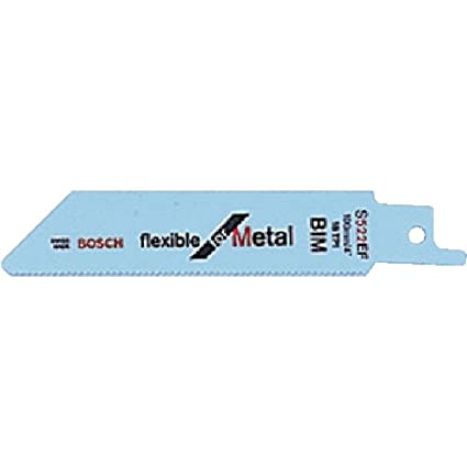 pack de 2 Hoja de sierra sable S 511 DF Flexible for Wood and Metal Bosch 2 608 657 722