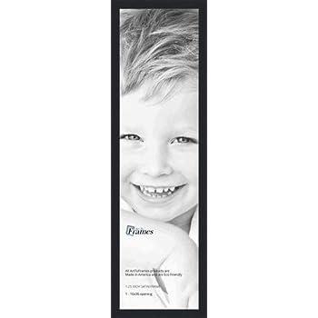 Amazoncom Arttoframes 10x36 Inch Satin Black Picture Frame