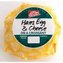 Deli Express Hot To Go Ham and Cheese Egg Croissant, 4.4 Ounce -- 10 per case. (Best Cheese For Ham And Cheese Croissant)