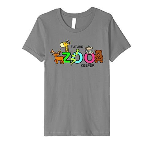 Kids FUTURE ZOO KEEPER Costume African Halloween Shirt Gift ()