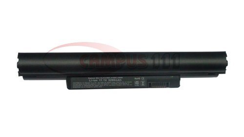 5200mAh 11.1V 6 cells Replacement Rechargeable Laptop Battery for DELL Inspiron Mini 10 1011 10v 312-0867, 312-0931, 312-0935, F144M, H766N, J590M, J658N, M457P (Mini Dell Laptop Battery)