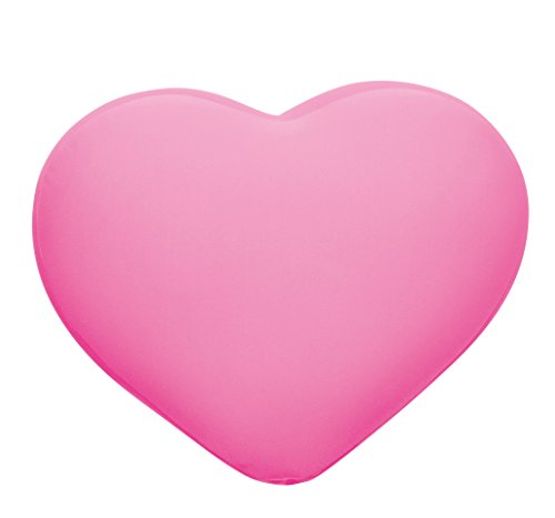 MOGU Heart Shocking Pink 836 137 from JAPAN