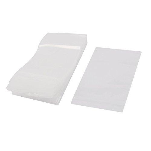 100 piezas de plástico transparente de poli puede volver a ...