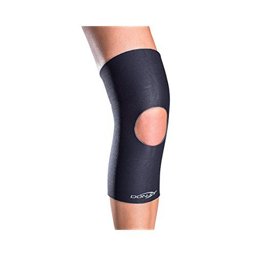 DonJoy Deluxe Open Knee Support, Open Patella - M