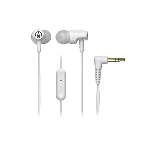 Audio-Technica ATH-CLR100iSWH SonicFuel In-Ear Headphones with In-line Microphone & Control, (Audio Technica Green)