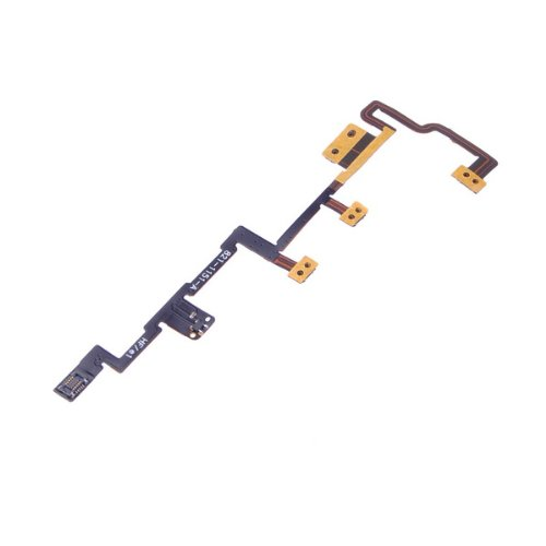 Generic BestDealUSA Power Switch On/Off Volume Control Key Flex Cable for Apple iPad 2
