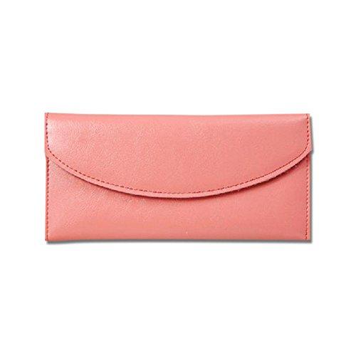 Eysee - Cartera de mano para mujer Amarillo rojo vino 19cm*11cm*2cm. rosa