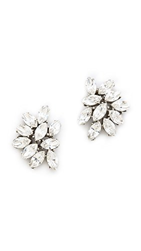 rystal Cluster Earrings, Handmade in the USA, Pierced Posts, Length 1 (2.5cm), Width .75 (1.9cm) ()