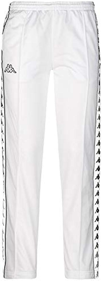 Kappa Pantalones 222 Banda Wastoria Snaps Slim Authentic Blanco M Medium Amazon Es Ropa Y Accesorios