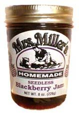Seedless Blackberry Jam: 3 jars Mrs Miller Homemade by Mrs. Miller's