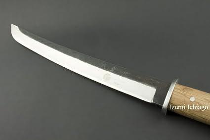 Amazon.com: Enorme cuchillo de caza MIYABI 613 por Izumi ...