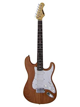Marlin ST-R-Natural Guitarra eléctrica - color natural: Amazon.es: Electrónica