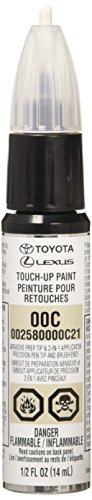 Toyota Genuine 00258-0000C-21 Clear Coat Touch-Up Paint Pen 1/2 FL OZ (14 ML) by Toyota