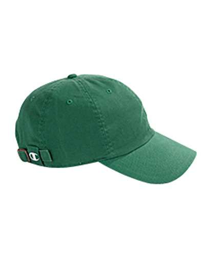Product of Brand Champion Brushed Cotton 6-Panel Cap - Kelly - OS - (Instant Savings of 5% & More) -