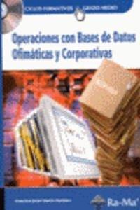 Download Operaciones con bases de datos ofimáticas y corporativas (Incluye CD) ebook
