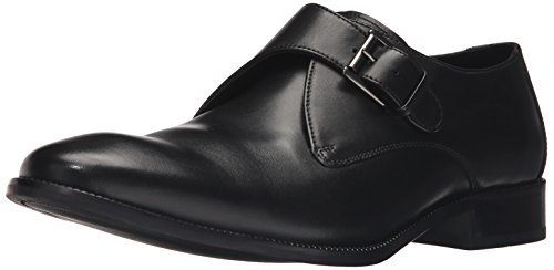 Cole Haan Men's Williams II Monk-Strap Loafer Black 10 Medium US